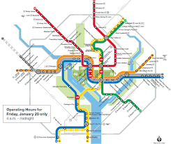 Subway Station Map by Inauguration Day 2017 Survival Guide Street Closures Metro