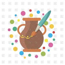 icon for hand made painting pot vector image 126583 u2013 rfclipart