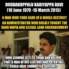 Murder Meme - dk ravi ias death is murder not a suicide home facebook