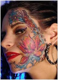 Tattoo Girl Meme - pretty face tattoo designs for women face tattoo girl tribal