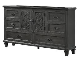 cabinet sle colors selah gray wood dresser with engraved design by best quality furniture