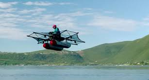futuristic flying cars this electric flying car is about to make cottage season way more