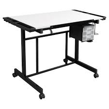 Studio Drafting Table by Studio Designs Deluxe Rolling Drafting Table Station Walmart Com