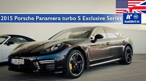 porsche 911 panamera turbo 2015 porsche panamera turbo s exclusive series test test drive