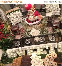 wedding centerpieces for sale on sale candy bar smores bar table centerpiece wedding