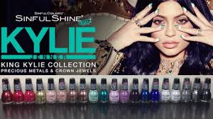 sinfulcolors king kylie collection review swatches the