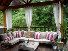 patio curtains outdoor screens curtain panels bed porch wonderful