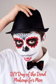 day of the dead makeup tutorial for guys rachel matos image source babble rachel matos