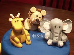cute animals made of gumpaste per kim seals great keepsakes for