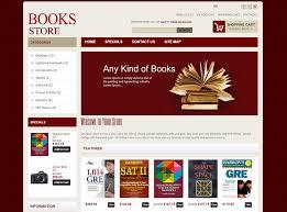 templates for bookshop bookstore open cart website templates themes free premium