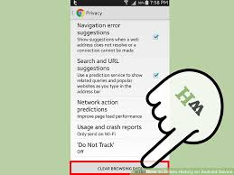 how to delete search history on android 5 easy ways to delete history on android device wikihow