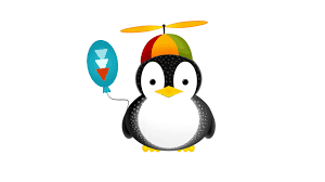cute penguin cartoon walldevil