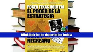 books poker texas hold em el poder de la estrategia power hold