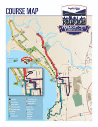Vt Map Course Map Vermont City Marathon