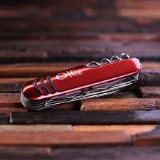Monogrammed Pocket Knife Set Of 10 Personalized Engraved Monogrammed Pocket Knife