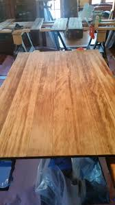 refinishing 100 year lignum vitae table woodworking