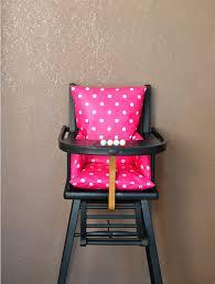 coussin chaise haute bebe coussin pour chaise haute bébé en bois ouistitipop