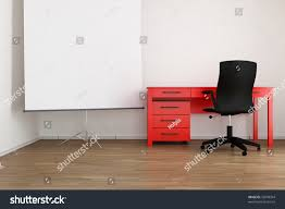 Wall Office Desk by Living Room Setting Office Table Chair Stock Photo 72878344