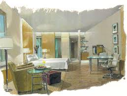 interior conceptual sketch interiordesign sketch bedroom