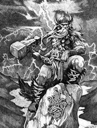 thor god thunder viking norse myth legend norse mythology