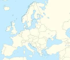 blank map of europe twinkl