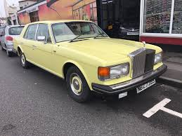 yellow rolls royce used 1984 rolls royce silver spirit v8 for sale in southsea