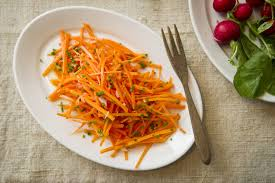 Thanksgiving Carrots Julienne Carrot Salad Recipe Nyt Cooking