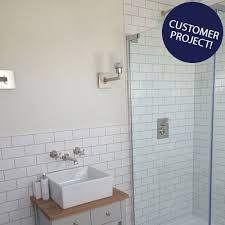 white chapel brick gloss tiles metro smooth 150x75 tiles