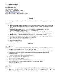 Green Card Resume Resume Cover Letter Ali Ashrafzadeh020416