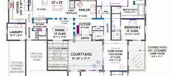 100 center courtyard house plans center courtyard house plans