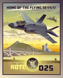 Arizona Travel Posters images Afrotc detachment 025 arizona state university squadron posters jpg