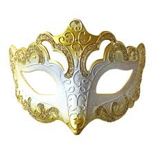 fancy masquerade masks buy venetian fancy glitter masquerade mask gold and white at simply