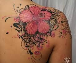 Leopard Print Flower Tattoos - tattoo images u0026 designs