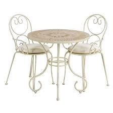 White Bistro Table Black And White Bistro Table And Chairs U2014 Interior Home Design