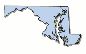 maryland map by county outline map of maryland and county map