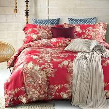 set 6 pcs vintage style luxury cotton bedding set blue satin vintage