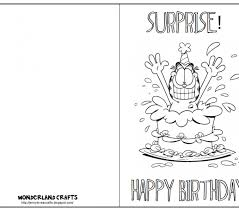 printable birthday cards to color birthday card printable birthday