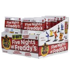 five nights at freddy s halloween costume party city five nights at freddy u0027s 8 bit construction figures bonnie toys
