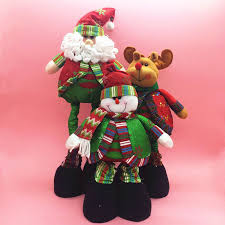 Cheap Reindeer Christmas Decorations by Online Get Cheap Santa Doll Aliexpress Com Alibaba Group