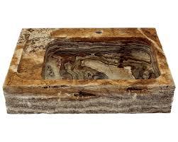 864 golden silk onyx vessel sink