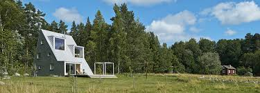 living in a triangle single family home in sweden detail