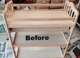 after baby outgrew changing table upcycled it brilliantly Compact Baby Changing Table