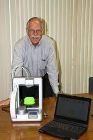 Chuck Hull   grandaddy of  d printing