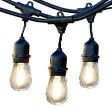 vintage light bulb strands light string cafe bistro vintage edison led bulbs broadway