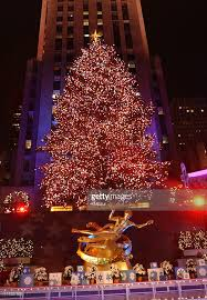 the 69th annual rockefeller center tree lighting in new