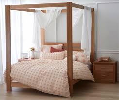 4 Post Bed Frame Springwood Bed Frame 4 Poster Bedroom Furniture