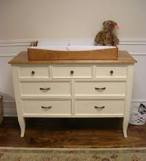 changing table topper only diy cherry wood dresser with changing table top and drawer painted
