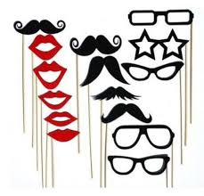 Wedding Photo Booth Props 15pcs Photo Booth Props Party Decoration Mask Mustache Lips