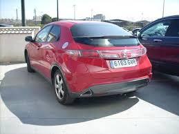 honda civic segunda mano honda civic sport gasolina color rojo 2010 en zaragoza 104434