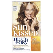 Hair Color To Cover Gray Amazon Com Clairol Nice U0027n Easy 6 5gn Light Golden Sunset Brown